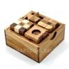 ชุดบล๊อคไม้สะสม ของเล่นไม้เซตสี่ชิ้น ชุดของเล่นสะสม เกมส์ฝึกสมอง