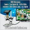 HDMI Microscope, Camera 3 MP True Digital HD สำหรับช่างมืออาชีพ