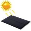 แผ่นโซลาร์เซล Solar Panel 5V 1.25W For Portable Battery Cell Phone Chargers
