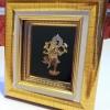 งานหัตถศิลป์ กรอบรูปเอกลักษณ์ไทย รูปพระพิฆเนศ เทพแห่งศิลปะและปัญญา