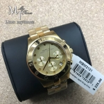 Marc by Marc Jacobs Blade Chronograph Gold Dial Gold-Tone Stainless Steel Ladies Watch MBM3101