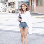 เสื้อเชิ้ต Korea Sexy U Back Shirt