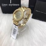 นาฬิกาข้อมือ Marc by Marc Jacobs Women's MBM3191 Marci Stainless Steel Watch with Link Bracelet MBM3191