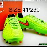 รองเท้าสตั๊ด Nike-Magista-Orden-Green-Cimson-Black fg