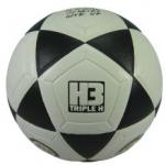 ลูกฟุตบอลหนังอัด H3 เบอร์ 5 (บอลขาวดำ)