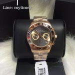 นาฬิกาข้อมือ Marc By Marc Jacobs รุ่น Blade Brown Dial Rose Gold Tone Ladies Watch MBM3309