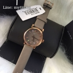 นาฬิกาข้อมือ Marc By Marc Jacobs รุ่น JACOBS Baker Mini Rose Gold/Grey Leather Strap Watch MBM1318