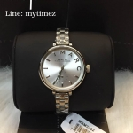 / MARC BY MARC JACOBS Sally Silver Dial Stainless Steel Ladies Watch MBM3362