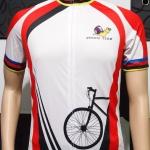 ตัวอย่างเสื้อปั่นจักรยาน ออกแบบตามความต้องการลูกค้า หอยทาก Team