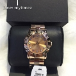 MARC BY MARC JACOBS Amy Texter Rose Dial Rose Gold-tone Ladies Watch MBM3216
