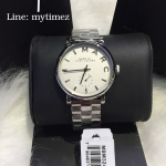 MARC BY MARC JACOBS Baker White Dial Steel Ladies Watch MBM3242