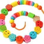 ลูกปัดแสนหรรษา ของเล่นเสริมความคิดสร้างสรรค์ ของเล่นพัฒนาสติปัญญา