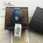 MICHAEL KORS Portia Crystallized Blue Steel Watch MK3680