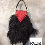 Sending Love Glittering&Fluffy Bag