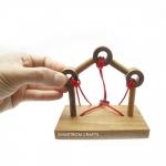 Gordian Bridge ของเล่นพัฒนาสมอง ของเล่นเชิงกลยุทธ์ จิ๊กซอว์ไม้