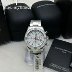 นาฬิกาข้อมือ Emporio Armani Men's Sport Luxe Stainless Chronograph AR5932