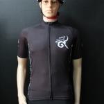 เสื้อปั่นจักรยานสีดำ รุ่น 2 (A2)