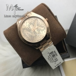 MICHAEL KORS Slim Runway Rose Gold Tone Dial Ladies Watch MK3591