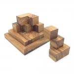 บล๊อคไม้ปิรามิดเหลี่ยม ของเล่นเสริมพัฒนาการเด็ก และเกมส์ฝึกสมอง