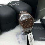 นาฬิกาข้อมือ Emporio Armani Men's Brown Dial Brown Ceramic Men Watch AR1444