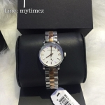 นาฬิกาข้อมือ Marc By Marc Jacobs รุ่น Baker White Dial Two-tone Ladies Watch MBM3331