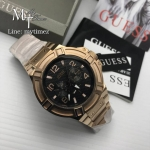 Guess Mens Rigor Watch W0218G3 - Rose Gold