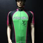 ตัวอย่างเสื้อ-กางเกงปั่นจักรยาน ออกแบบตามความต้องการลูกค้า Star Bike