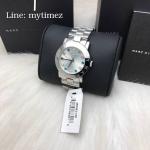 MARC BY MARC JACOBS Amy Silver Tone Multi Glitz Watch MBM3140