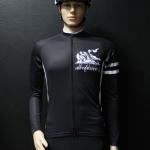 เสื้อปั่นจักรยานสีดำ รุ่น 3 (ป้ายขาว)