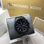 นาฬิกาข้อมือ MICHAEL KORS รุ่น All Black Large Lexington Chronograph Bracelet Watch MK8320
