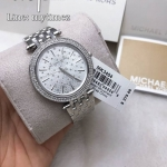 นาฬิกาข้อมือ MICHAEL KORS รุ่น Darci Silver Dial Crystal Stainless Steel Ladies Watch MK3404