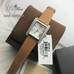 นาฬิกาข้อมือ MICHAEL KORS รุ่น SQUARE LEATHER STRAP WOMEN'S WATCH MK2612