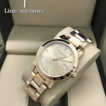 BURBERRY Burberry The City Rose Gold Diamond Ladies Watch BU9126
