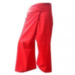 กางเกงขายาว กางเกงเลแดง กางเกงชาวประมง กางเกงขาก๊วย ผ้าโทเร