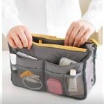 กระเป๋าจัดระเบียบ Bag in Bag สำหรับกระเป๋าถือ แบบ 13 ช่อง
