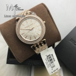 MICHAEL KORS Darci Crystal Pave Rose Gold-Tone Stainless Steel Ladies Watch MK3439