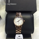นาฬิกาข้อมือ Marc By Marc Jacobs รุ่น Mini Baker White Dial Rose Gold Ladies Watch MBM3248