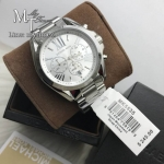 นาฬิกาข้อมือ MICHAEL KORS รุ่น Bradshaw Chronograph Silver-tone Ladies Watch MK5535