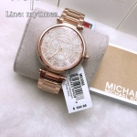 นาฬิกาข้อมือ MICHAEL KORS รุ่น Skylar Crystal Pave Dial Rose gold-tone Ladies Watch MK5868