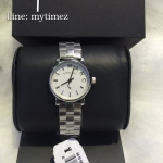 MARC BY MARC JACOBS Mini Baker White Dial Silver Ladies Watch MBM3246