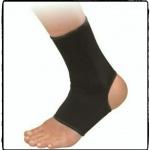ผ้ารัดข้อเท้า (สีดำ) 1 คู่