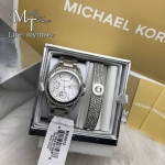 MICHAEL KORS Blair Multi-Function Glitz Ladies Watch MK5612 +Bracelet Set