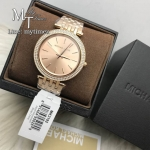 นาฬิกาข้อมือ MICHAEL KORS รุ่น Darci Rose Gold Dial Pave Bezel Ladies Watch MK3192