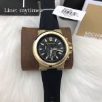 นาฬิกาข้อมือ MICHAEL KORS รุ่น Dylan Chronograph Black Dial Men's Watch MK8445