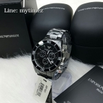 Emporio Armani Men's Black Ceramic Chronograph AR1421