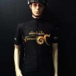เสื้อปั่นจักรยานสีดำ รุ่น 5