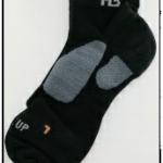 ถุงเท้า PRO PAD สั้น (สีดำ)