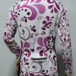 เสื้อปั่นจักรยาน Flower Collection หน้า Cat Eye หลัง Hi Dot
