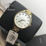 MARC BY MARC JACOBS Betty White Mother Of Pearl Dial Ladies Watch MBM3509