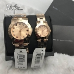 MARC BY MARC JACOBS Amy Dexter Rose Dial Rose Gold-tone Ladies Watch MBM3219 and MBM3216